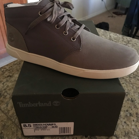Timberland men's Groveton chukka md gray NWT